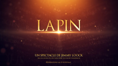Spectacle de magie LAPIN Faches Thumesnil